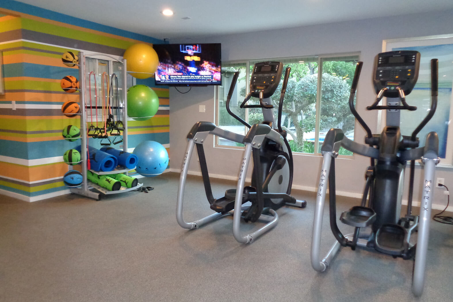 Modern Fitness Center at Hills at Hacienda Heights, Hacienda Heights, 91745