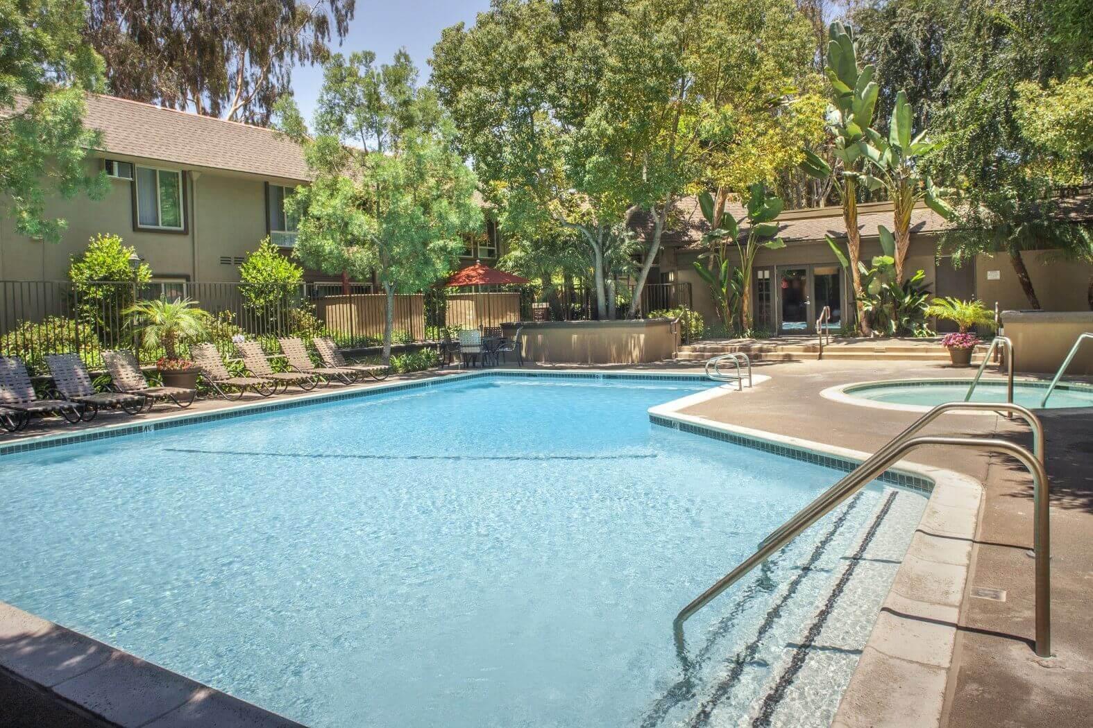 Cool Blue Swimming Pool at Hills at Hacienda Heights, Hacienda Heights, CA, 91745