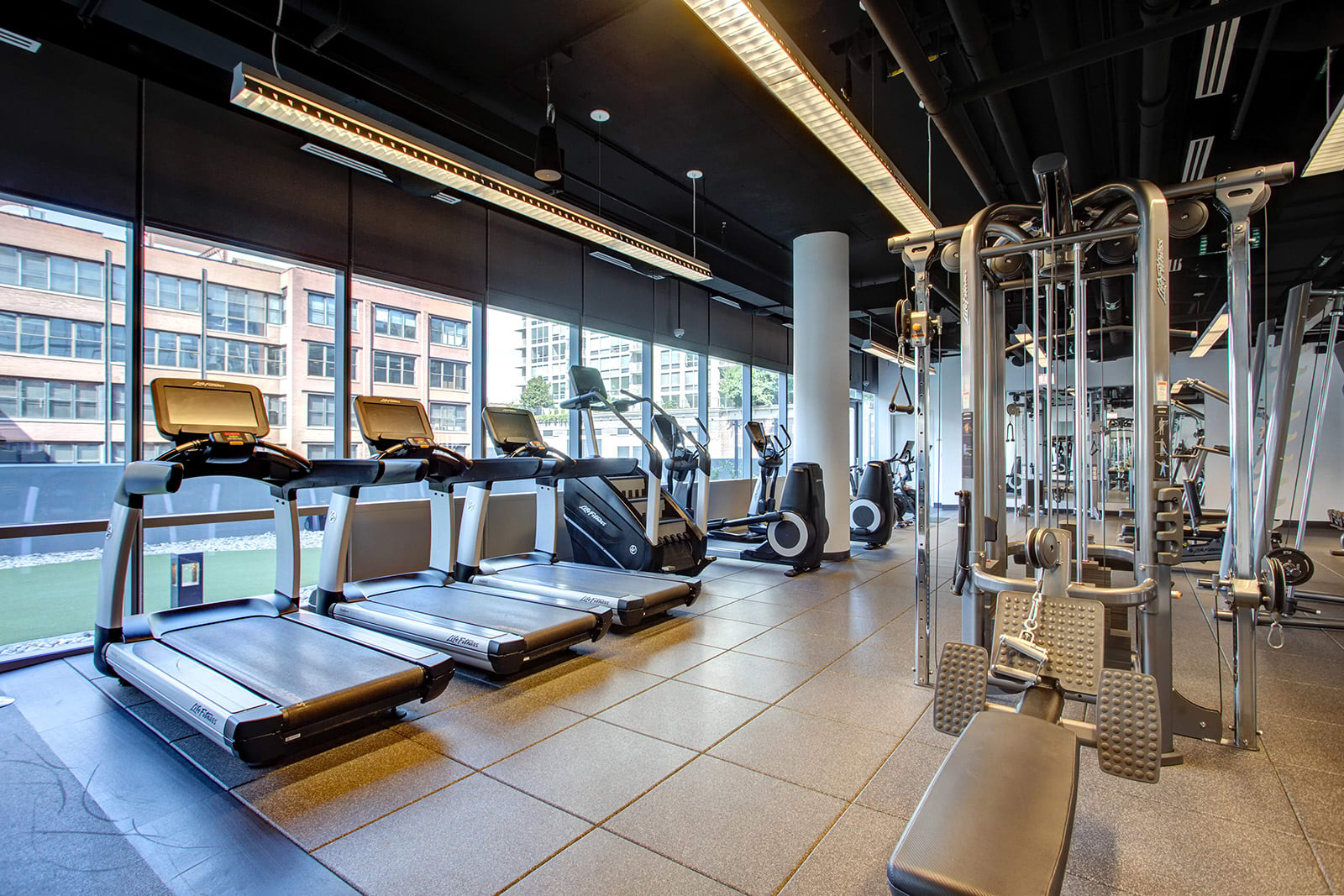 High-Performance Fitness Studio at 640 North Wells, Chicago, 60654