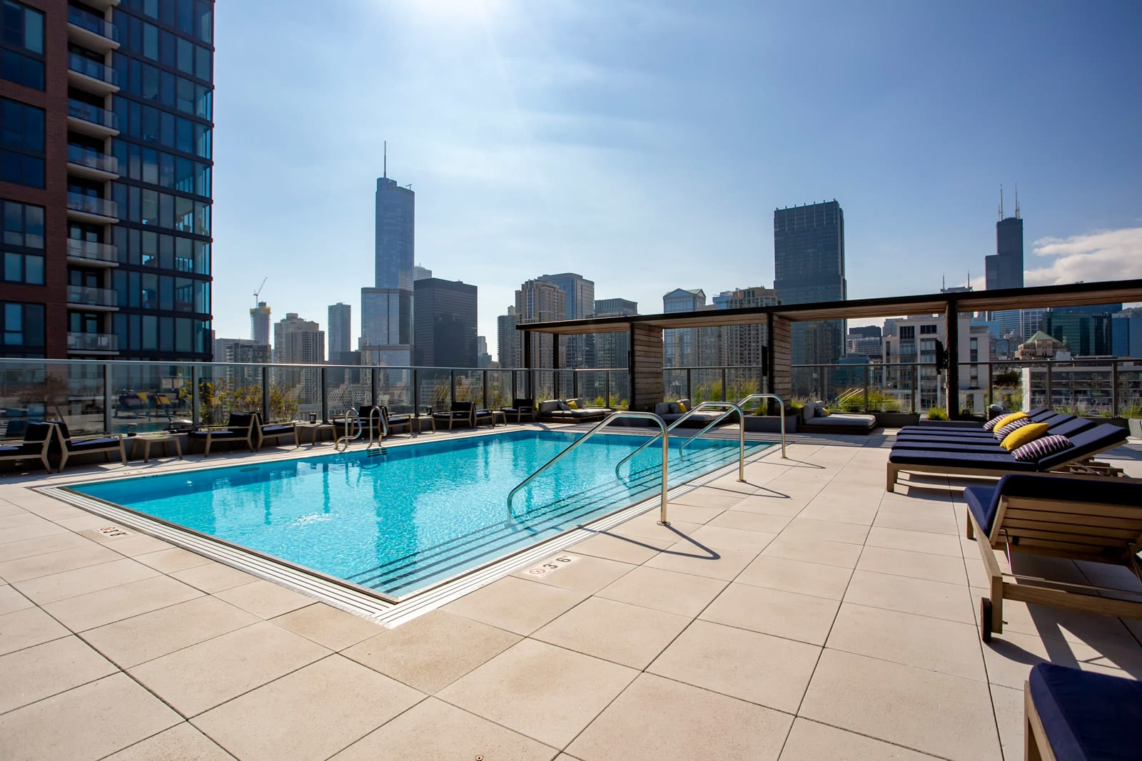 Rooftop Pool at 640 North Wells, 640 N Wells, IL