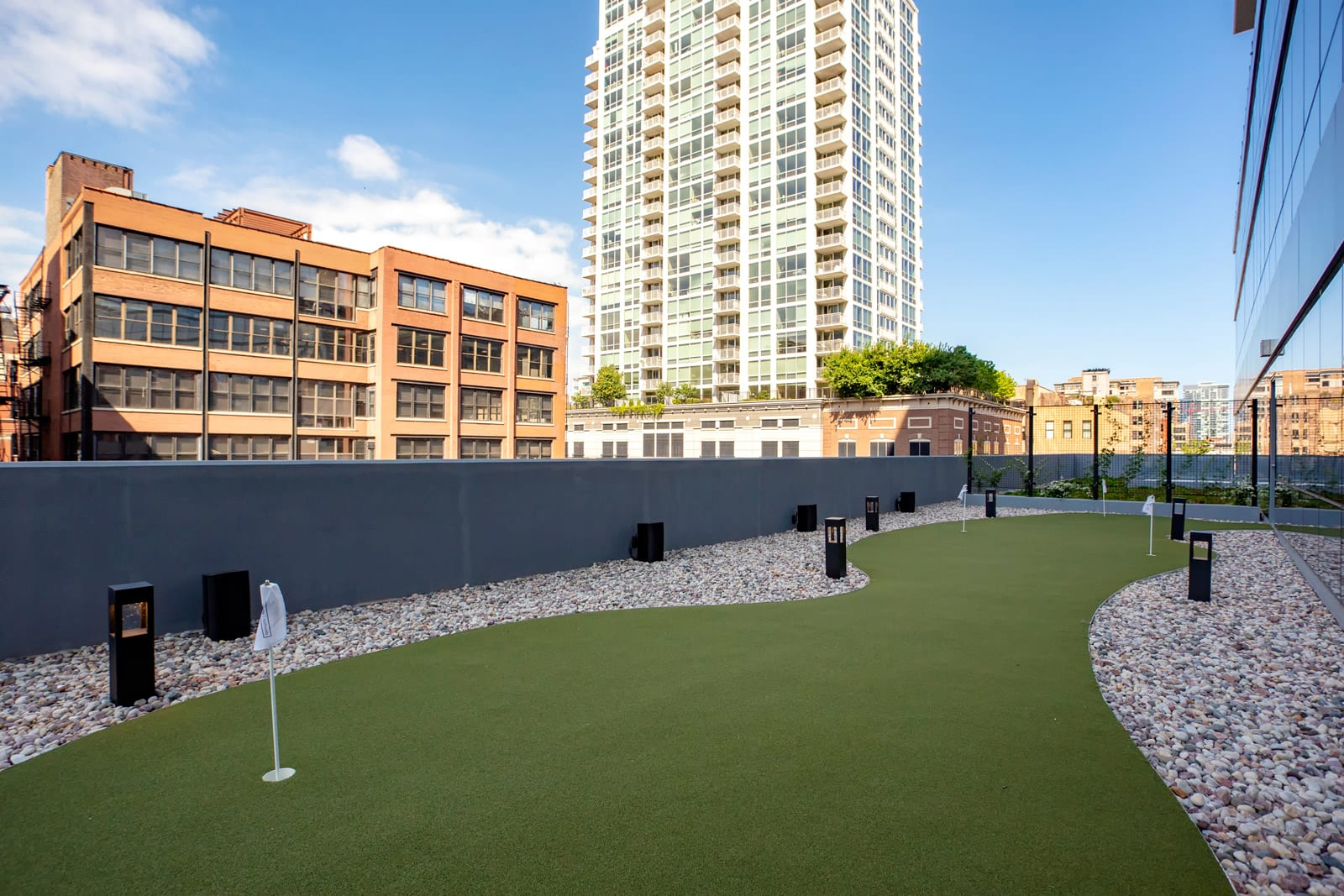 Rooftop Putting Green at 640 North Wells, Illinois, 60654