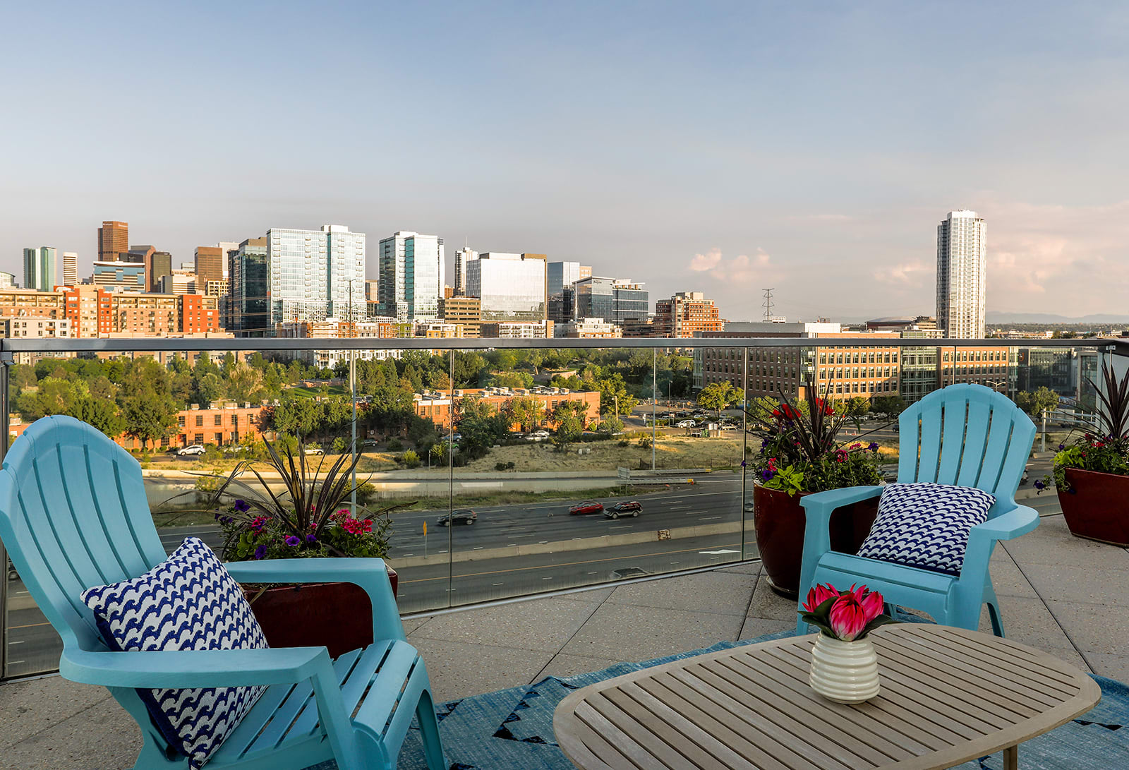 Stunning Views Of The Denver Skyline From Our Location at Centric LoHi by Windsor, Denver, CO