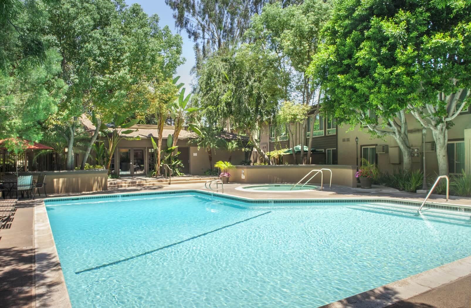 View of Sparkling Pool at Hills at Hacienda Heights, Hacienda Heights, CA,91745