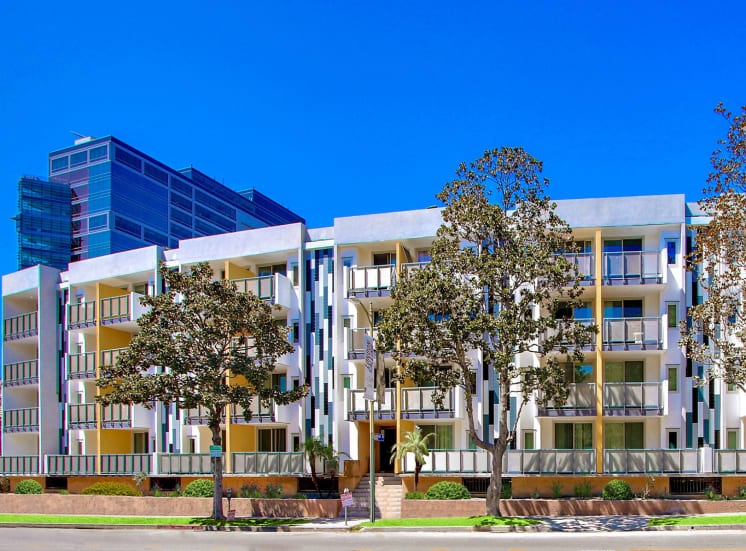 Modern living apartment rentals located in the heart of Westwood Village, CA