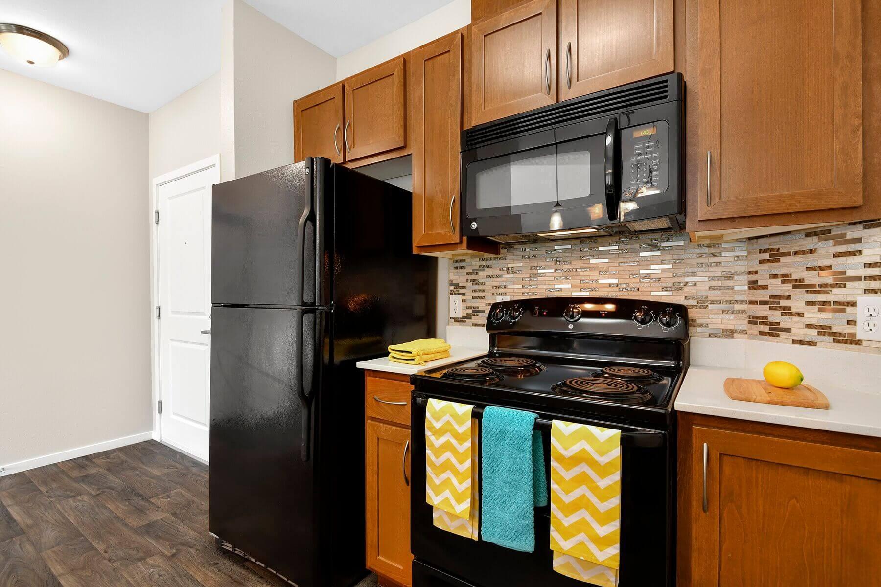 Kitchen Appliances at Reunion at Redmond Ridge, Redmond, 98053
