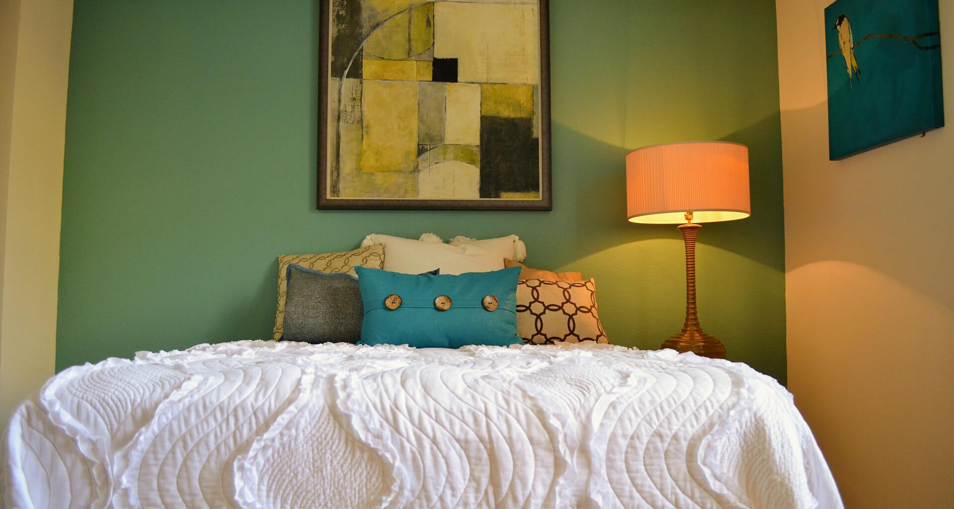 Two Tone Paint Scheme at Sterling Village Apartment Homes, 88 Valle Vista Avenue, Vallejo