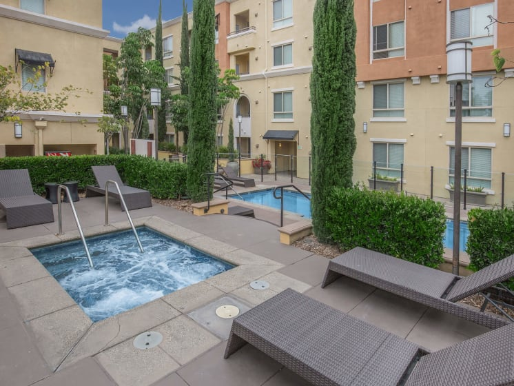 Soothing Spa at Meridian Place, Northridge, CA, 91324