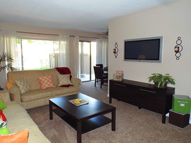 Living Room, at Stoneridge Apartments, 1540 West 8th St.
