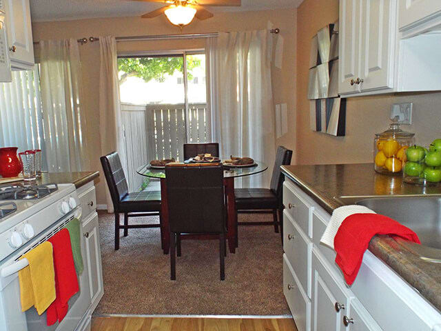 Fully-Equipped Kitchen at Stoneridge Apartment Homes, Upland, California