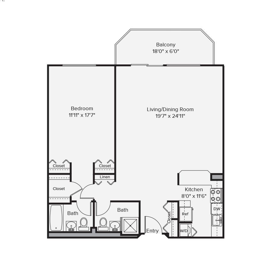 10 West Floor Plan 1D