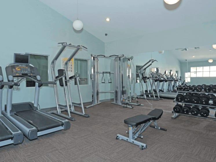 24-Hour Fitness Center at Village at Desert Lakes, Las Vegas