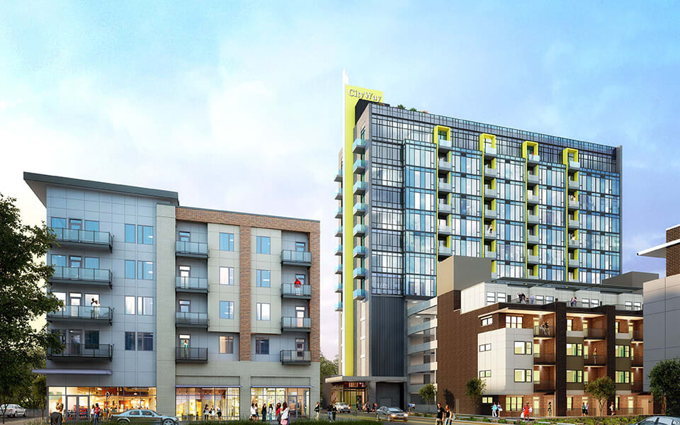CityWay Phase Two Rendering