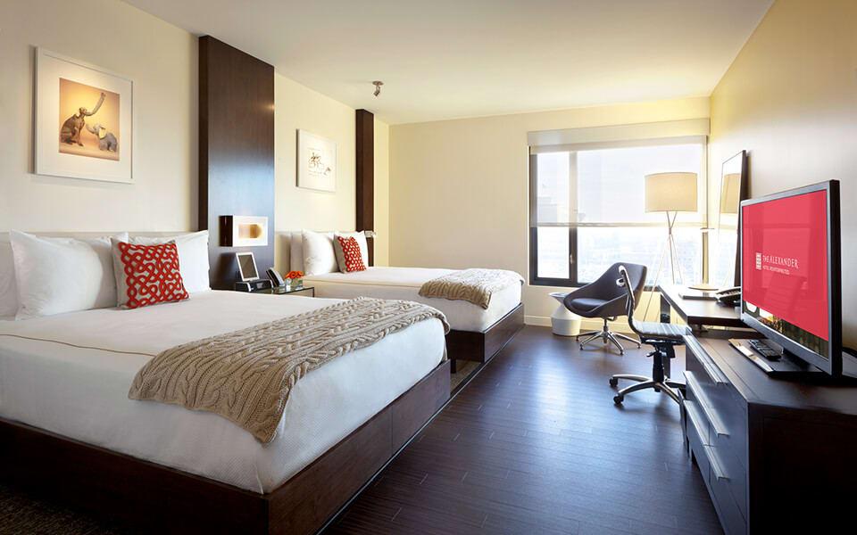 Spacious Bedrooms with en Suite Bathrooms at CityWay, Indianapolis, 46204
