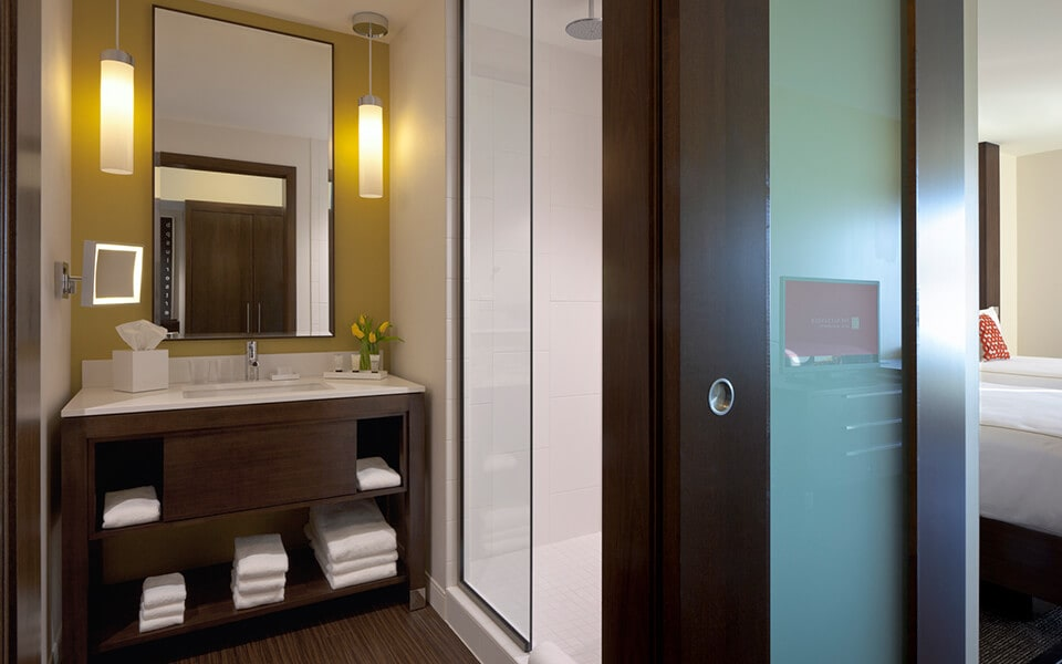 Custom Framed Bathroom Mirrors at CityWay, Indianapolis, IN