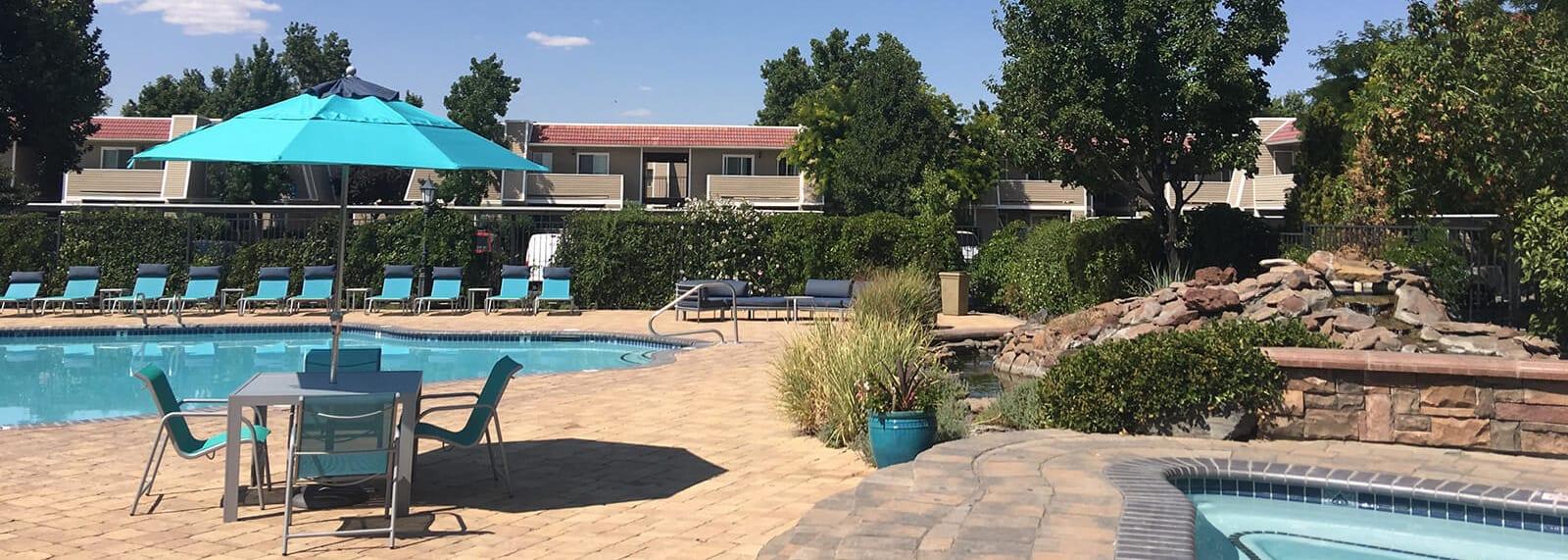 Pool and Spa at Reflections at the Marina, 89434
