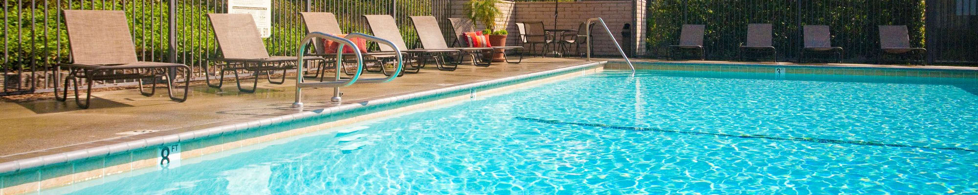 Sparkling Pools at Stoneridge Apartments, Upland, CA, 91786
