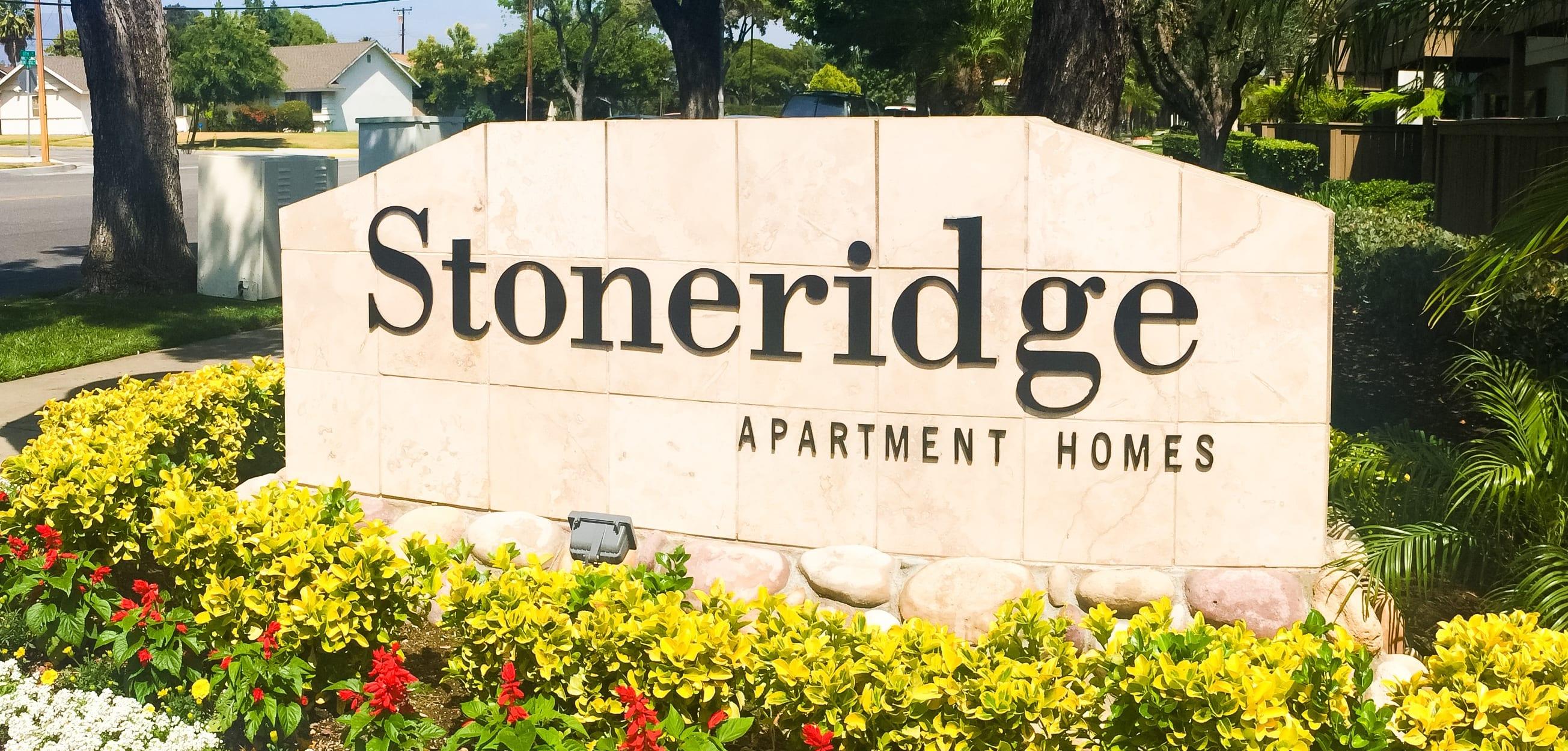 Stoneridge Apartments Signage, Upland, California, 91786