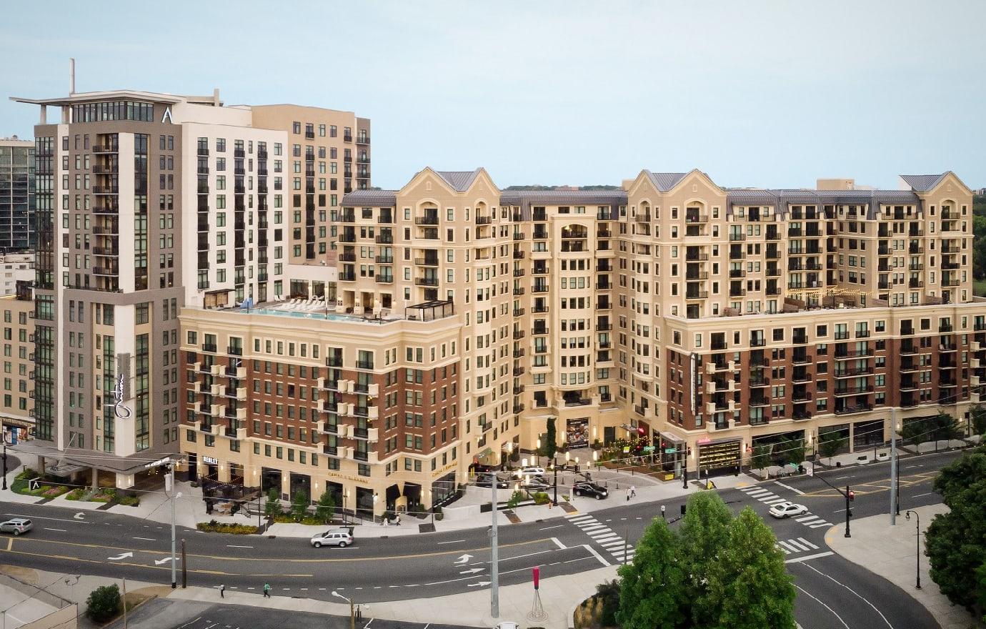 Aertson Midtown Apartments in downtown Nashville