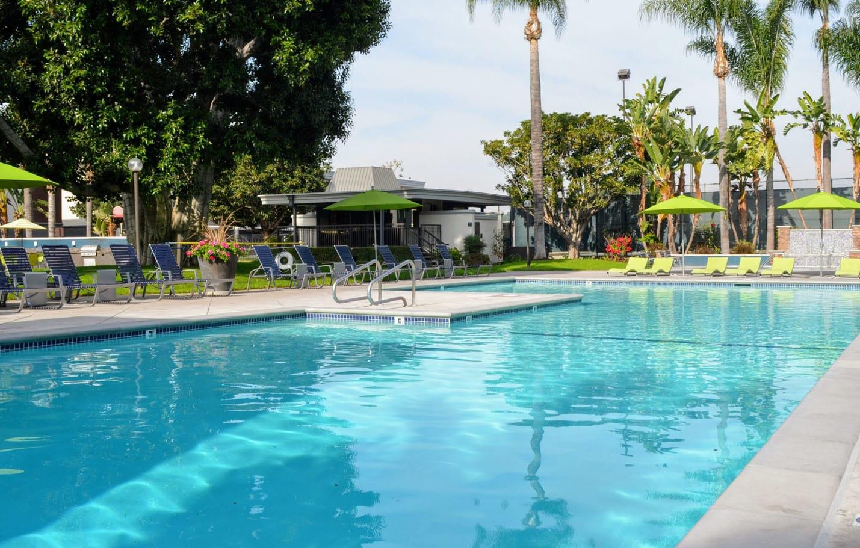 Pristine Pool at Madison Park Apartments, Anaheim, CA