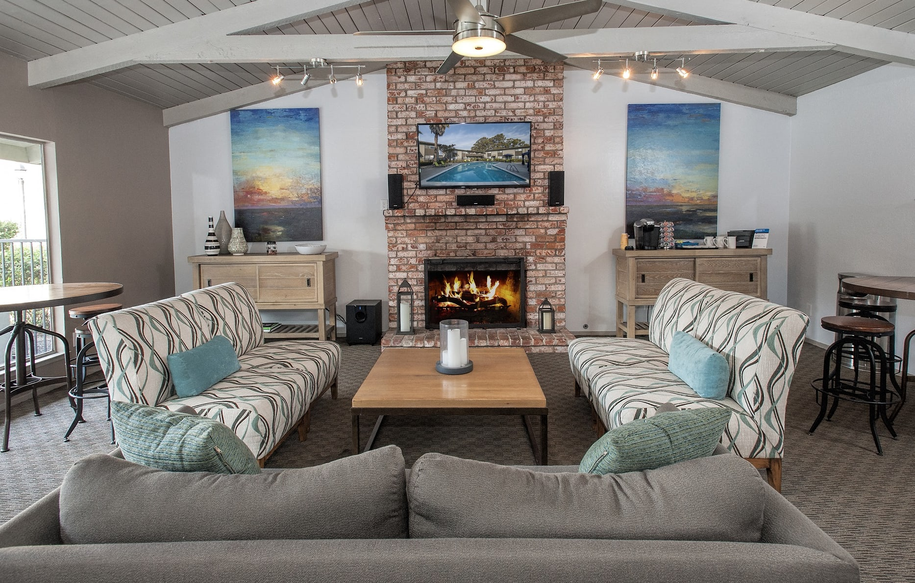 Clubhouse for Entertaining at Monterey Townhouse, Monterey, 93940
