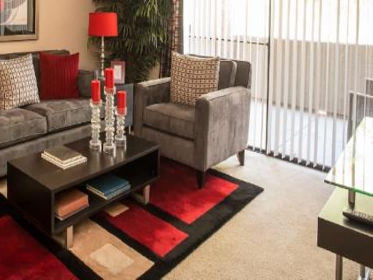 Living Room at Ascent at Papago Park, Phoenix, Arizona