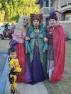 Halloween costumes at Mirabella Apartments, Bermuda Dunes, CA