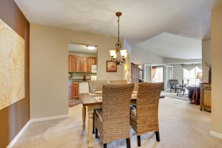 The Riverwood Apartments in Lilydale, MN Dining Room