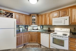 The Riverwood Apartments in Lilydale, MN Kitchen