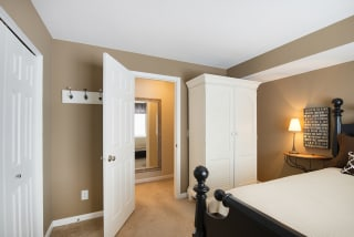 The Riverwood Apartments in Lilydale, MN Bedroom