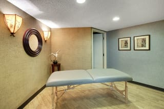 The Riverwood Apartments in Lilydale, MN Massage Room