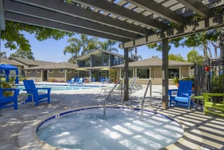 Pool Cabana & Outdoor Entertainment Bar at Waterleaf, CA, 92083