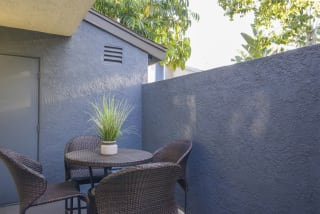 Private Balcony With Seating at Waterleaf, California, 92083