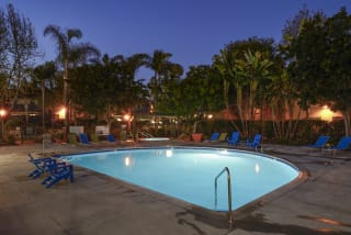 Swimming Pool With Sparkling Water at Waterleaf, Vista, CA