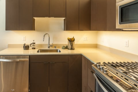 New Counter tops and Cabinets at Ballard Lofts, 6450 24th Avenue, NW Seattle, 98107