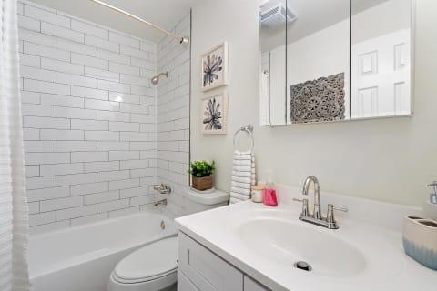 Atlantic Pointe Apartments Bathroom