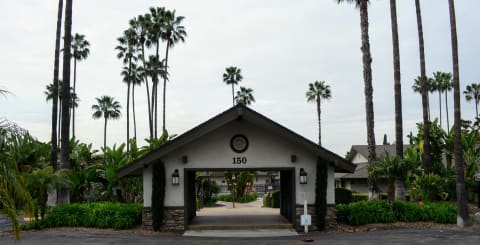 Gated Entrance at Terramonte Apartment Homes, Pomona, 91767