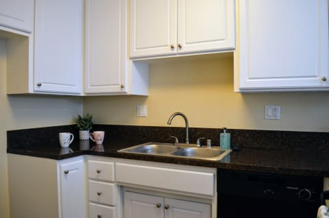 Spacious Kitchen with Pantry Cabinet at Terramonte Apartment Homes, Pomona