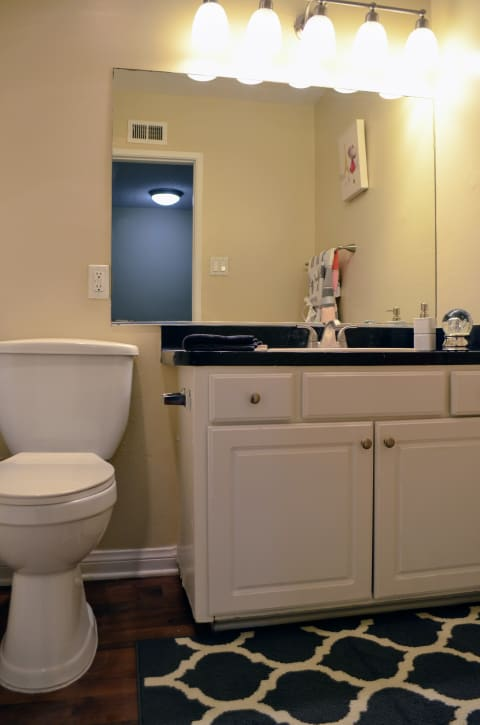 Designer Bathroom Suites at Terramonte Apartment Homes, Pomona, CA, 91767