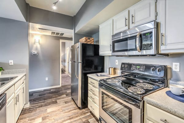 Copper Creek Apartments Stainless Steel Appliances