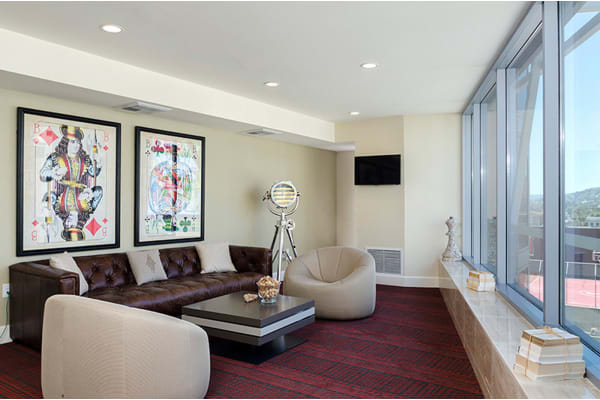 8th Floor Networking Wi-Fi Lounges at 1600 Vine Apartment Homes, California, 90028