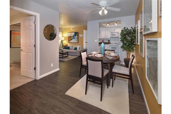 Vinyl-Flooring Available in Select Apartments at Mirabella Apartments, 92203, CA