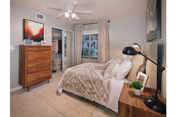 Ceiling Fans in Common Areas and Bedrooms at Mirabella Apartments, California, 92203