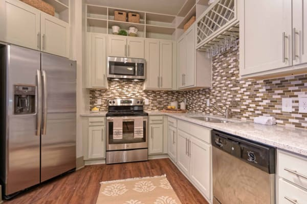 Kitchen at 1160 Hammond Apartments in Sandy Springs, GA