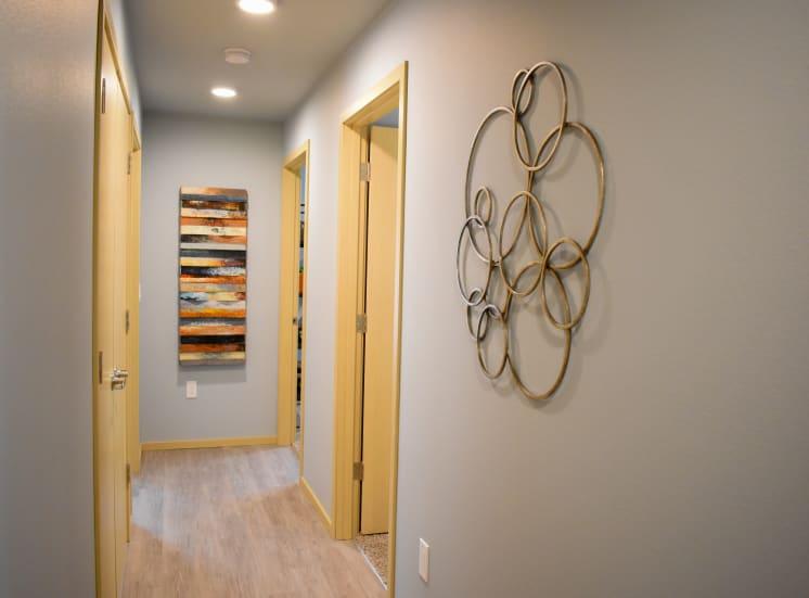 4 Bedroom Unit Hall