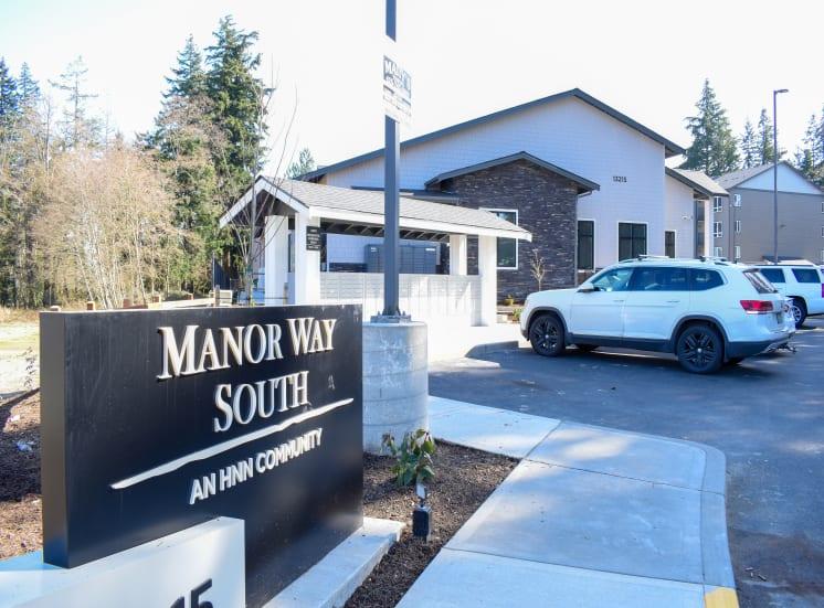 Manor Way South Entrance