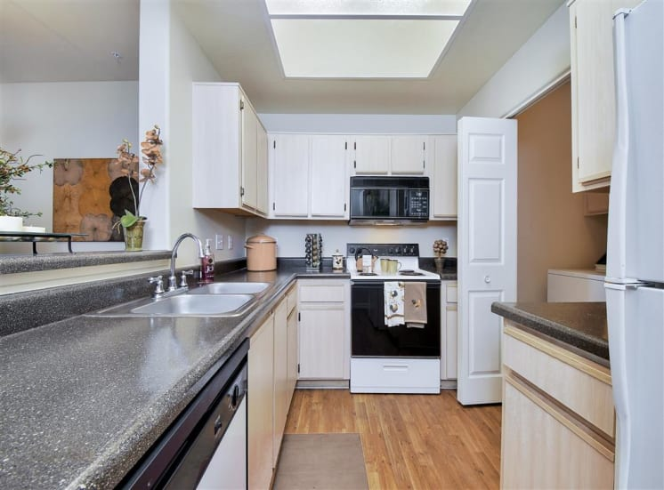 Full sized Washer and Dryer at Ventana Apartment Homes in Central Scottsdale, AZ, For Rent. Now leasing 1 and 2 bedroom apartments.
