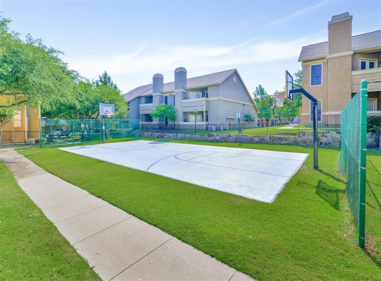 Basketball Court at The Winsted at Valley Ranch in Irving, TX, For Rent. Now leasing 1 and 2 bedroom apartments.
