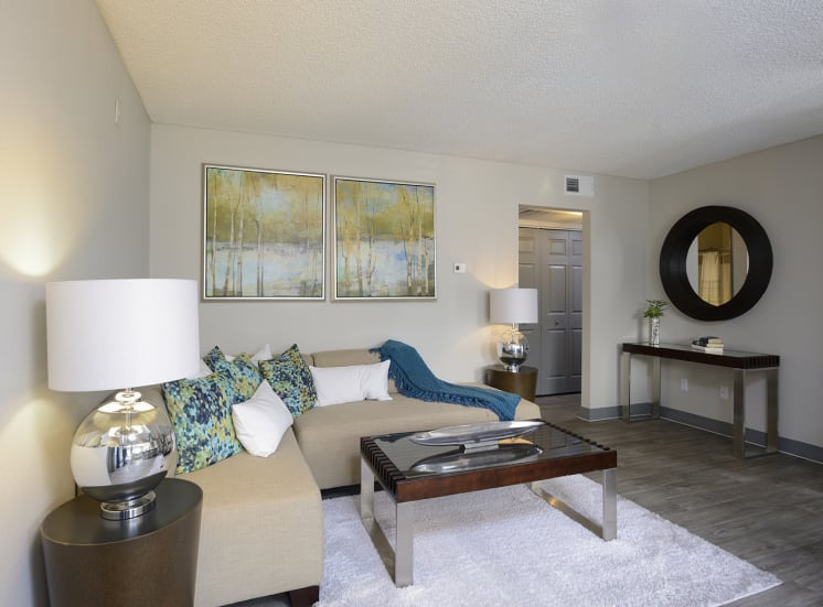 Warm and Inviting Living Room, at The Bristol at Sunset, Nevada, 89014