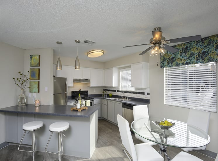 Spacious Eat-In Kitchen at The Bristol at Sunset, Henderson, NV, 89014