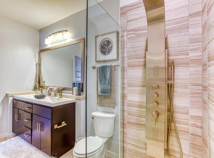 Bathroom Accessories at Carroll at Bellemeade, Greensboro, NC 27401